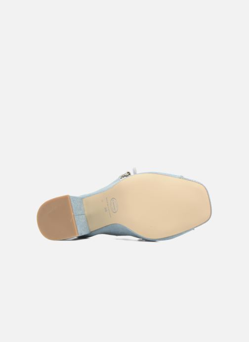 Sandales et nu-pieds Made by SARENZA 90's Girls Gang Sandales à Talons #3 Bleu vue haut