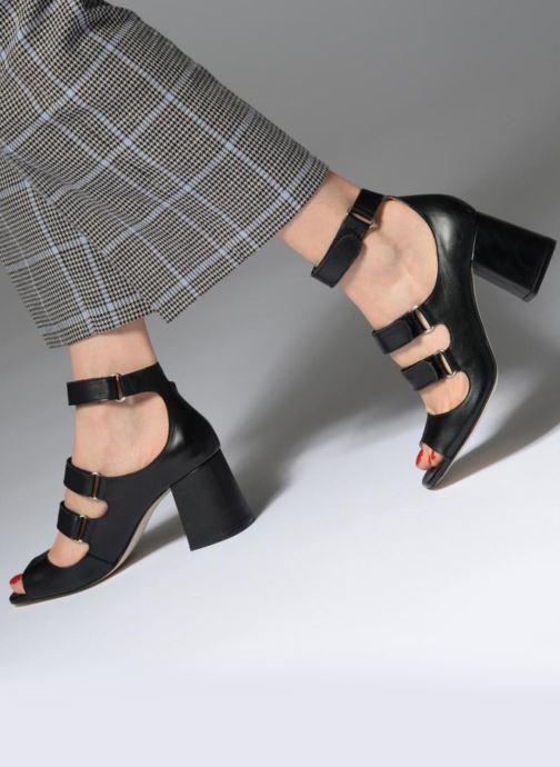 Sandali e scarpe aperte Made by SARENZA 90's Girls Gang Sandales à Talons #3 Nero immagine dal basso