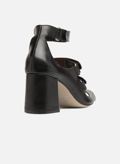Sandali e scarpe aperte Made by SARENZA 90's Girls Gang Sandales à Talons #3 Nero immagine frontale