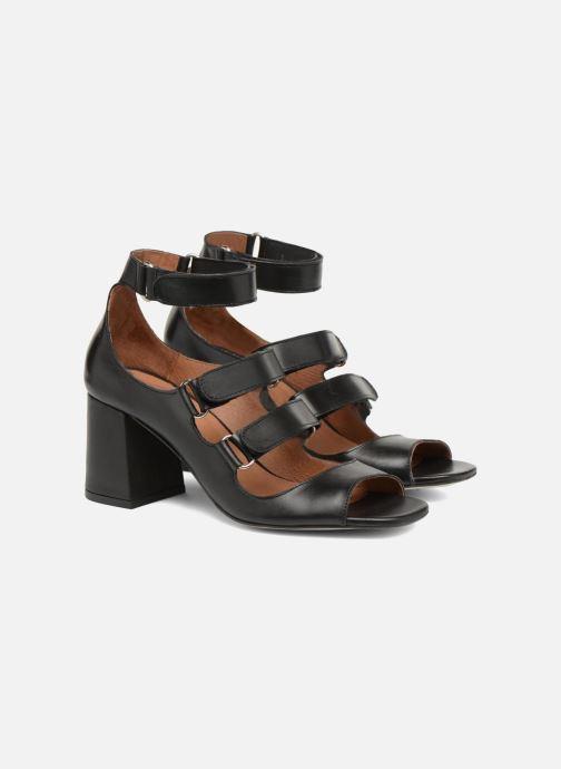 Sandali e scarpe aperte Made by SARENZA 90's Girls Gang Sandales à Talons #3 Nero immagine posteriore