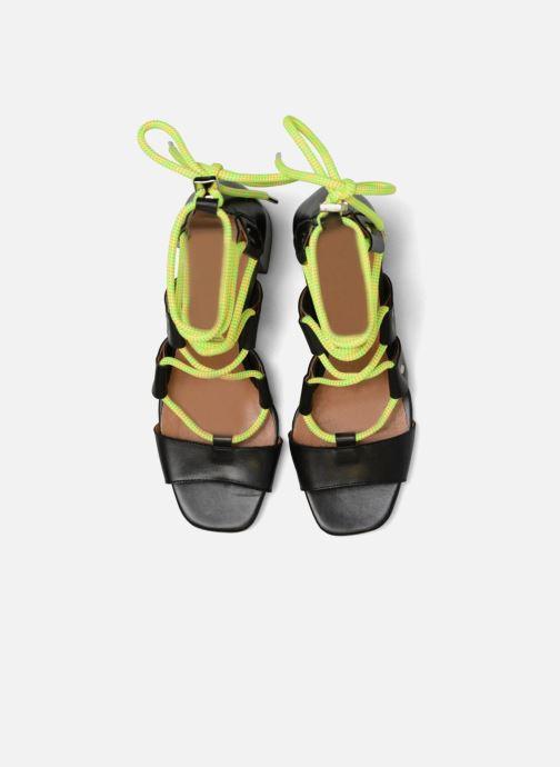 Sandales et nu-pieds Made by SARENZA 90's Girls Gang Sandales à Talons #4 Noir vue portées chaussures