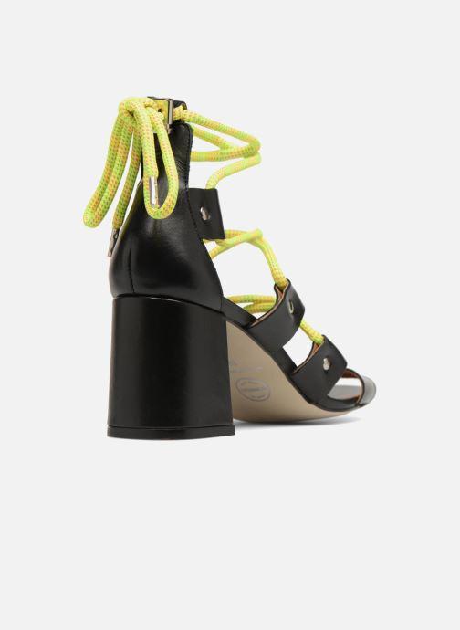 Sandales et nu-pieds Made by SARENZA 90's Girls Gang Sandales à Talons #4 Noir vue face