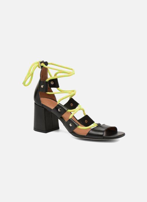 Sandales et nu-pieds Made by SARENZA 90's Girls Gang Sandales à Talons #4 Noir vue droite