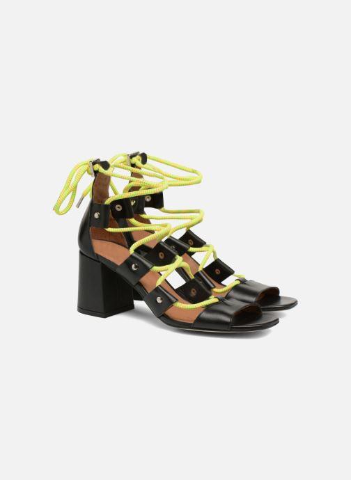 Sandales et nu-pieds Made by SARENZA 90's Girls Gang Sandales à Talons #4 Noir vue derrière