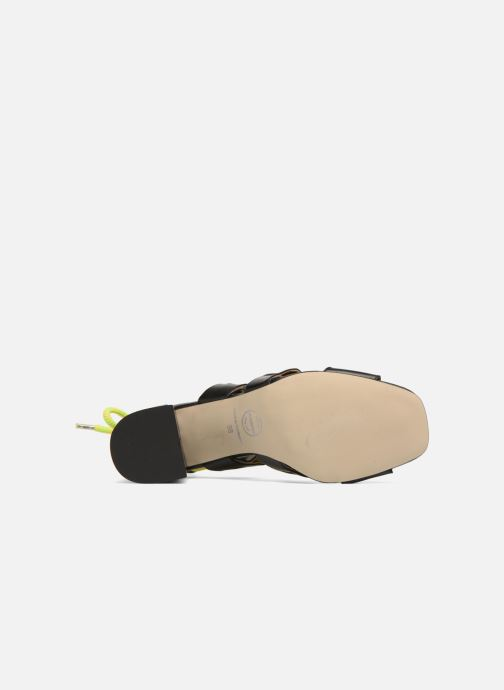 Sandales et nu-pieds Made by SARENZA 90's Girls Gang Sandales à Talons #4 Noir vue haut