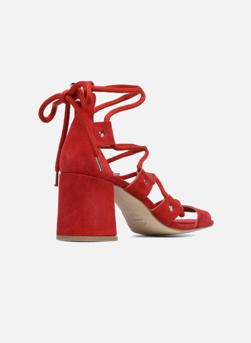 Sandales et nu-pieds Made by SARENZA 90's Girls Gang Sandales à Talons #4 Rouge vue face