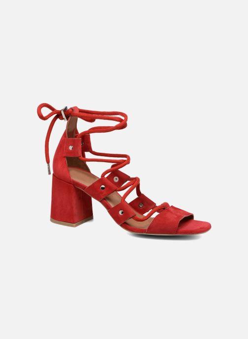Sandales et nu-pieds Made by SARENZA 90's Girls Gang Sandales à Talons #4 Rouge vue droite