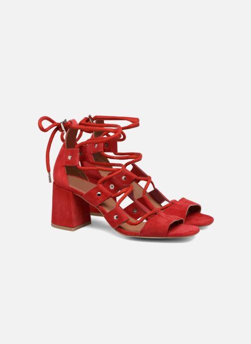 Sandales et nu-pieds Made by SARENZA 90's Girls Gang Sandales à Talons #4 Rouge vue derrière