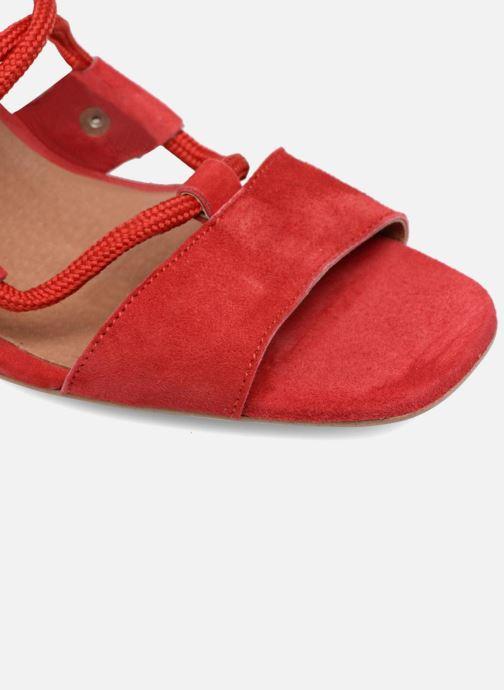 Sandales et nu-pieds Made by SARENZA 90's Girls Gang Sandales à Talons #4 Rouge vue gauche