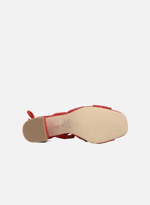 Sandales et nu-pieds Made by SARENZA 90's Girls Gang Sandales à Talons #4 Rouge vue haut