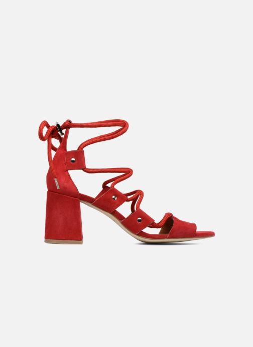 Sandales et nu-pieds Made by SARENZA 90's Girls Gang Sandales à Talons #4 Rouge vue détail/paire