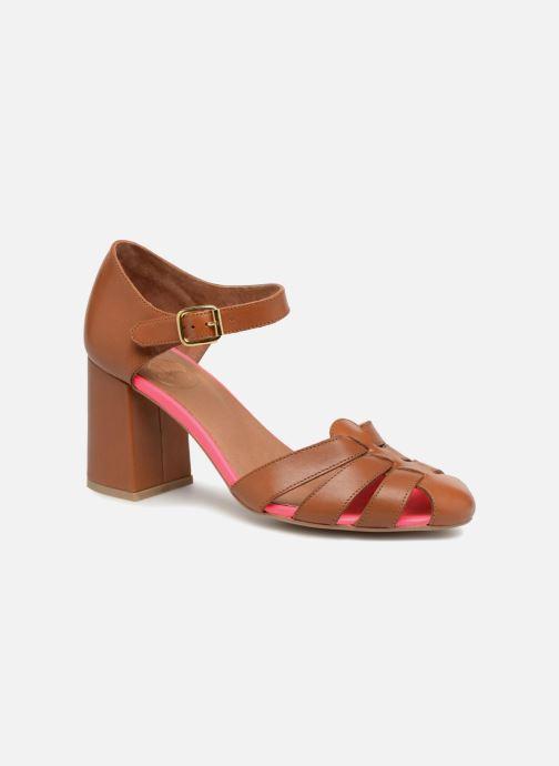 Sandali e scarpe aperte Made by SARENZA 90's Girls Gang Sandales à Talons #5 Marrone immagine destra