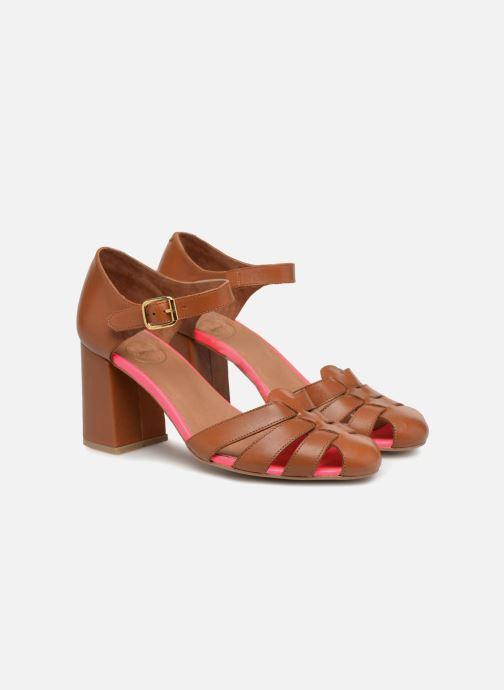 Sandales et nu-pieds Made by SARENZA 90's Girls Gang Sandales à Talons #5 Marron vue derrière
