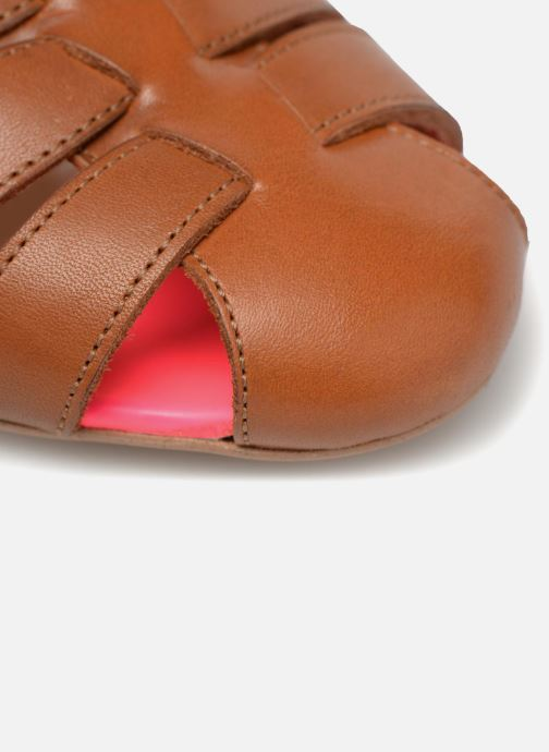 Sandali e scarpe aperte Made by SARENZA 90's Girls Gang Sandales à Talons #5 Marrone immagine sinistra