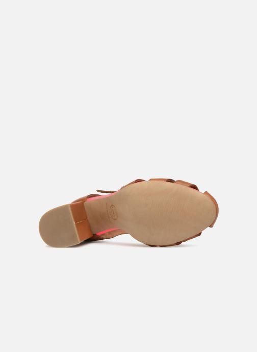 Sandales et nu-pieds Made by SARENZA 90's Girls Gang Sandales à Talons #5 Marron vue haut