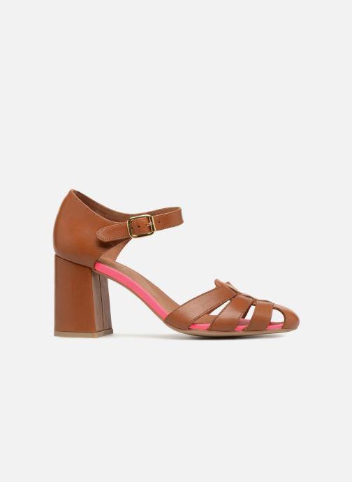 Sandales et nu-pieds Made by SARENZA 90's Girls Gang Sandales à Talons #5 Marron vue détail/paire