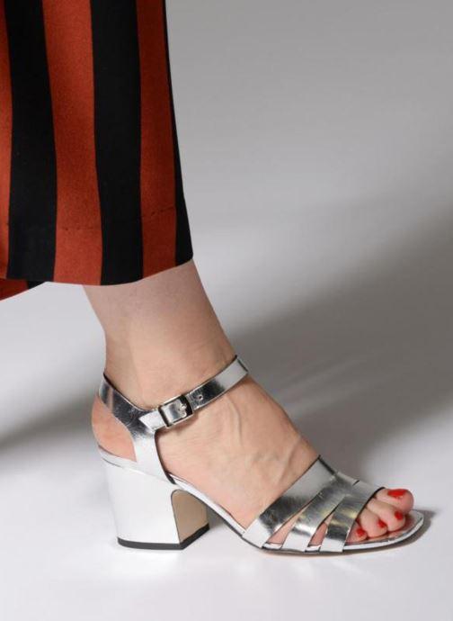 Sandales et nu-pieds Made by SARENZA 90's Girls Gang Sandales à Talons #6 Argent vue bas / vue portée sac