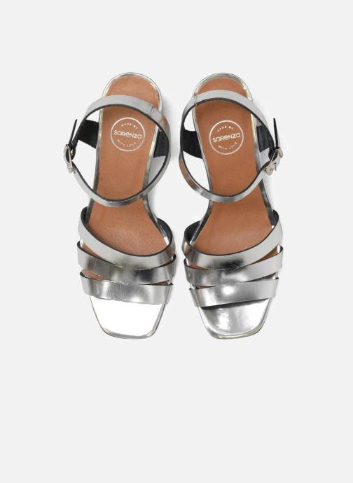 Sandales et nu-pieds Made by SARENZA 90's Girls Gang Sandales à Talons #6 Argent vue portées chaussures