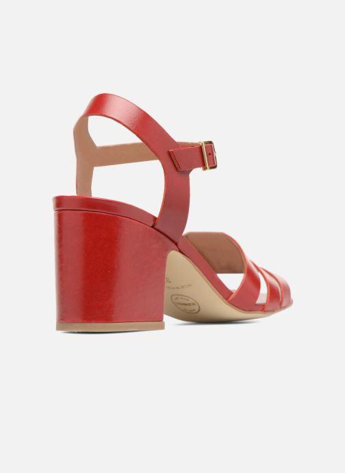 Sandali e scarpe aperte Made by SARENZA 90's Girls Gang Sandales à Talons #6 Rosso immagine frontale