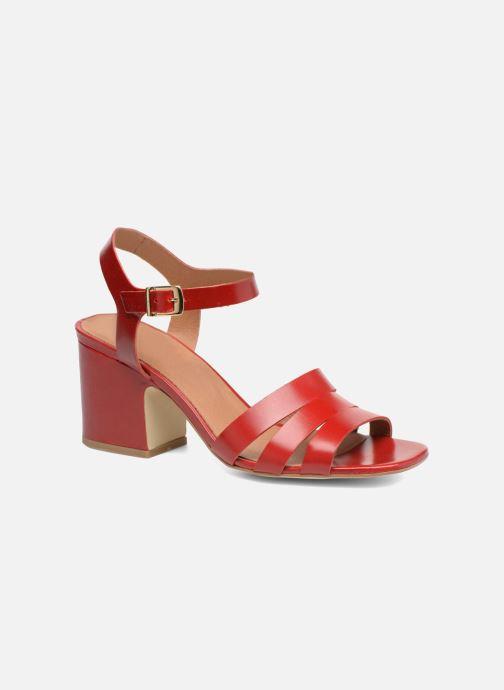 Sandali e scarpe aperte Made by SARENZA 90's Girls Gang Sandales à Talons #6 Rosso immagine destra