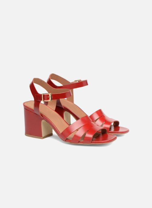 Sandali e scarpe aperte Made by SARENZA 90's Girls Gang Sandales à Talons #6 Rosso immagine posteriore