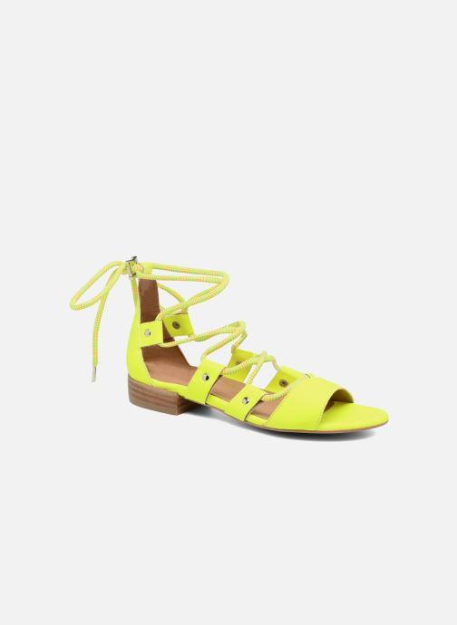 Sandales et nu-pieds Made by SARENZA 90's Girls Gang Sandales Plates #1 Jaune vue droite