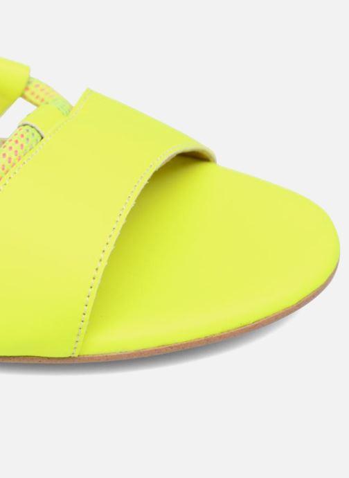 Sandales et nu-pieds Made by SARENZA 90's Girls Gang Sandales Plates #1 Jaune vue gauche