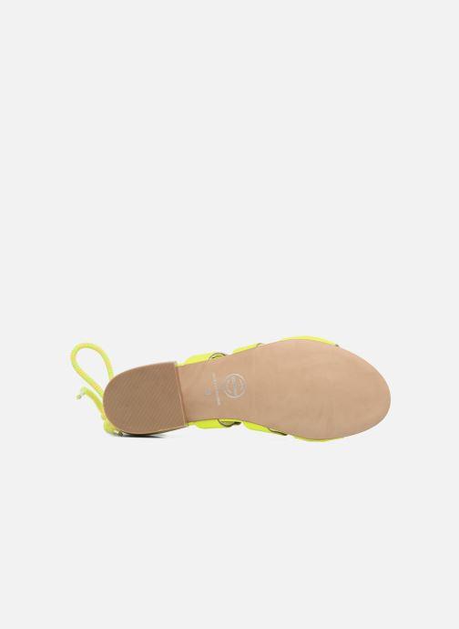 Sandalen Made by SARENZA 90's Girls Gang Sandales Plates #1 Geel boven