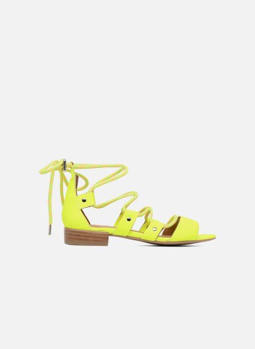 Sandales et nu-pieds Made by SARENZA 90's Girls Gang Sandales Plates #1 Jaune vue détail/paire