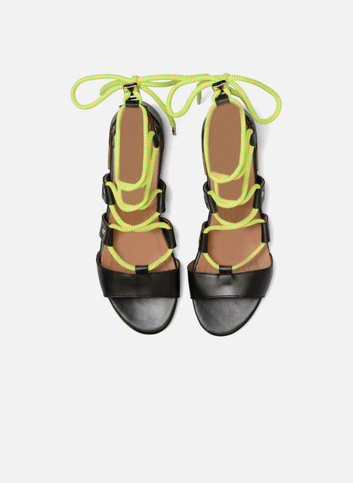 Sandales et nu-pieds Made by SARENZA 90's Girls Gang Sandales Plates #1 Noir vue portées chaussures