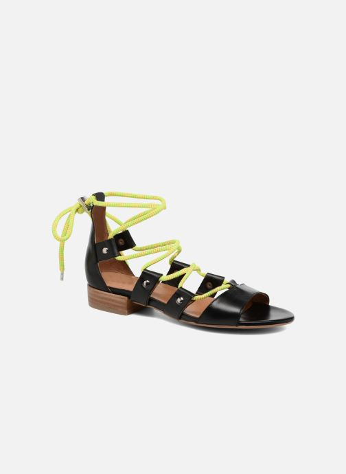 Sandales et nu-pieds Made by SARENZA 90's Girls Gang Sandales Plates #1 Noir vue droite