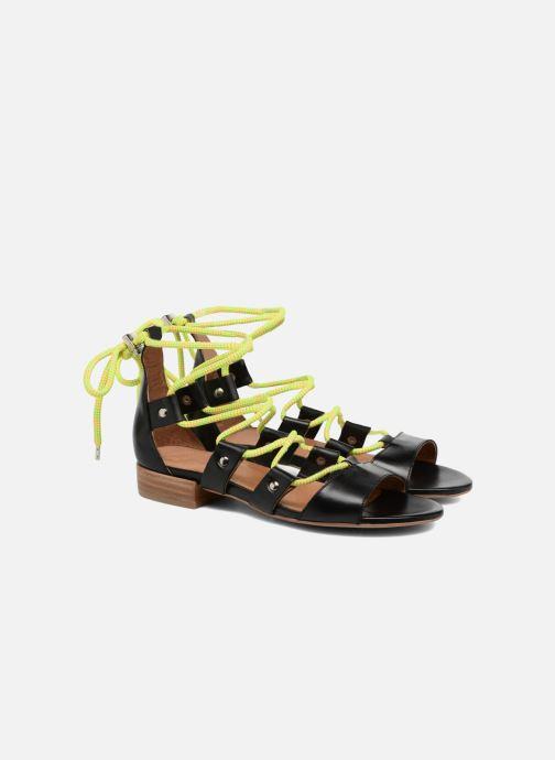 Sandales et nu-pieds Made by SARENZA 90's Girls Gang Sandales Plates #1 Noir vue derrière