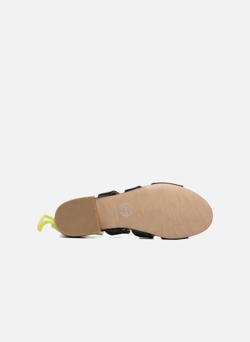 Sandales et nu-pieds Made by SARENZA 90's Girls Gang Sandales Plates #1 Noir vue haut