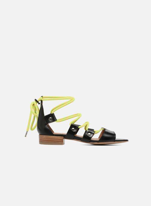 Sandales et nu-pieds Made by SARENZA 90's Girls Gang Sandales Plates #1 Noir vue détail/paire