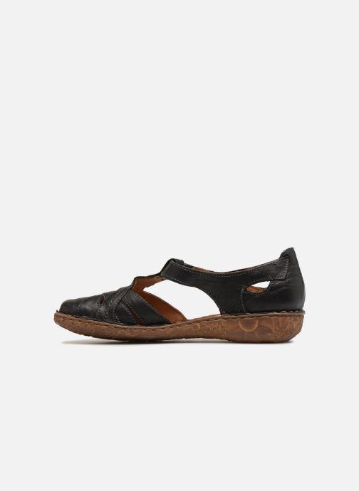 Sandales et nu-pieds Josef Seibel Rosalie 29 Noir vue face