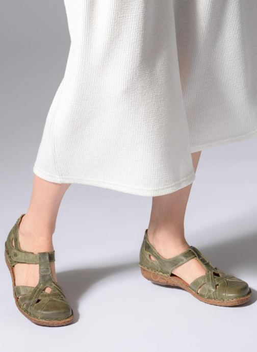 Sandalen Josef Seibel Rosalie 29 grün ansicht von unten / tasche getragen