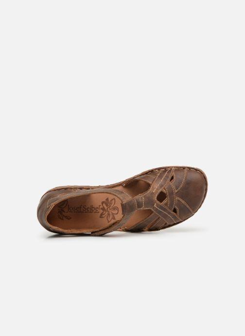Sandales et nu-pieds Josef Seibel Rosalie 29 Marron vue gauche