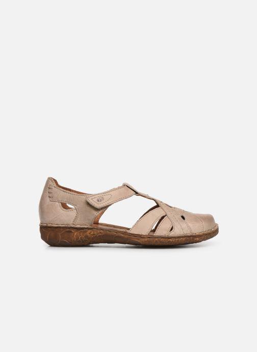 Sandales et nu-pieds Josef Seibel Rosalie 29 Beige vue derrière