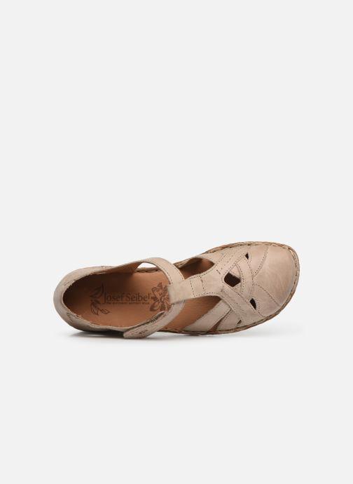 Sandales et nu-pieds Josef Seibel Rosalie 29 Beige vue gauche