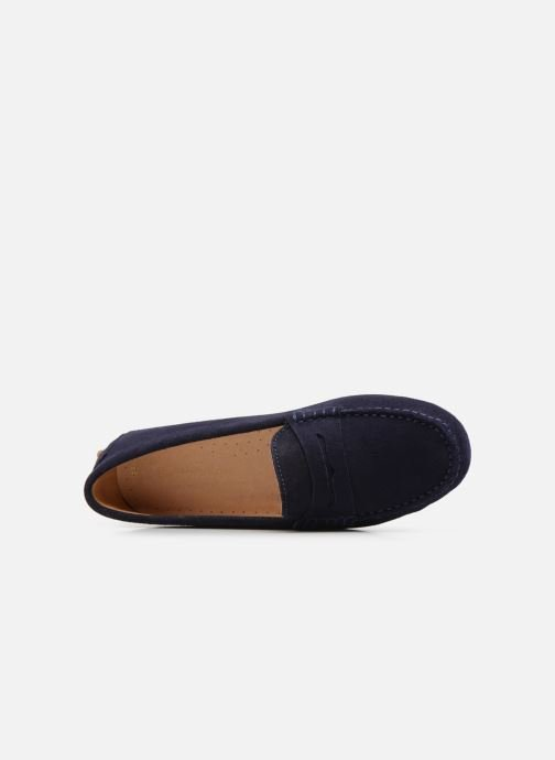Slipper Georgia Rose Stalimac blau ansicht von links