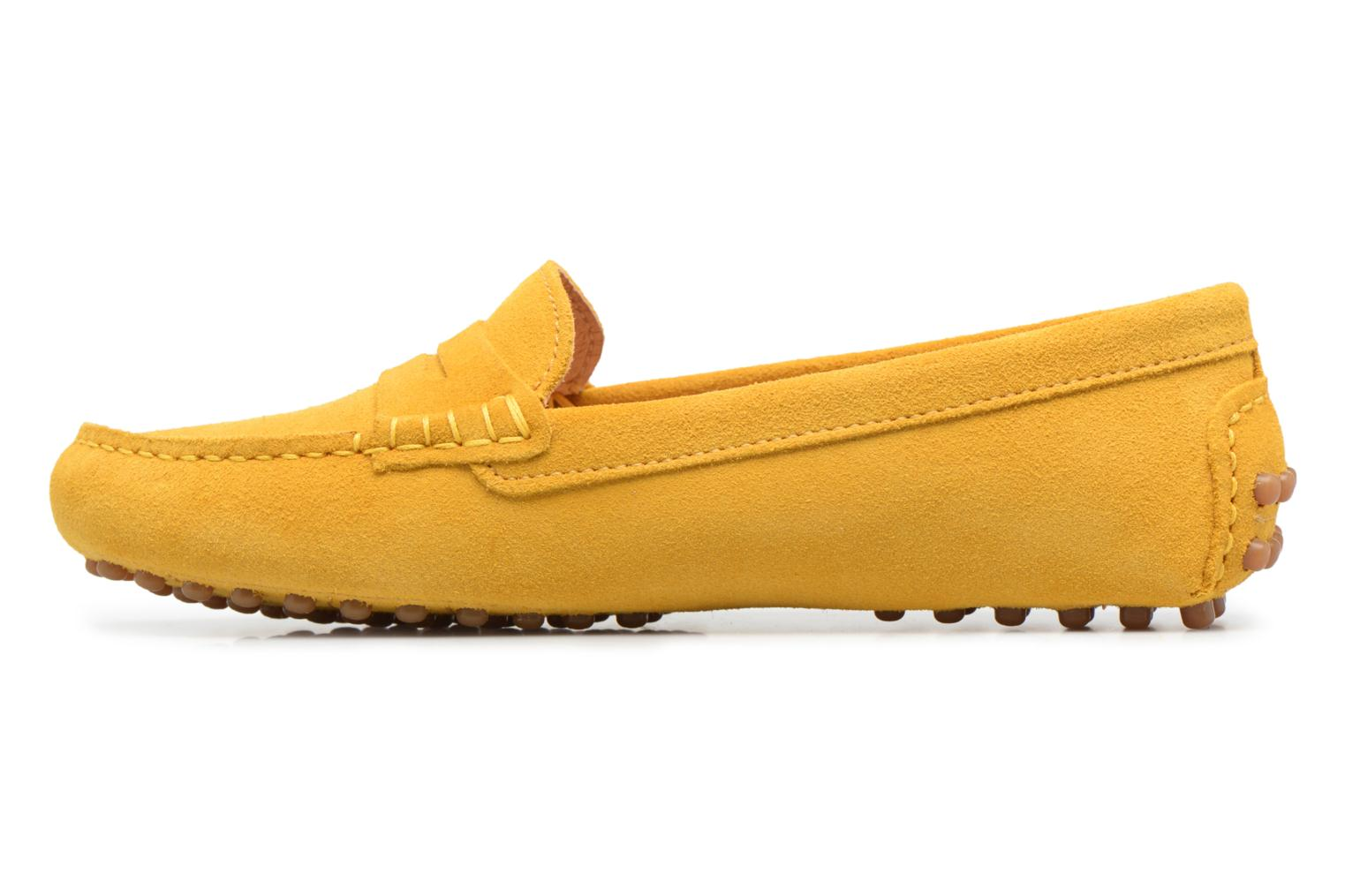 Mocassins Georgia Rose Stalimac Jaune vue face