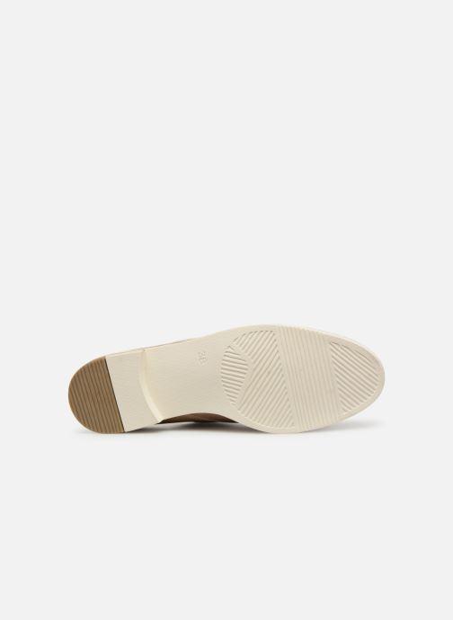 Scarpe con lacci Marco Tozzi Horio Beige immagine dall'alto