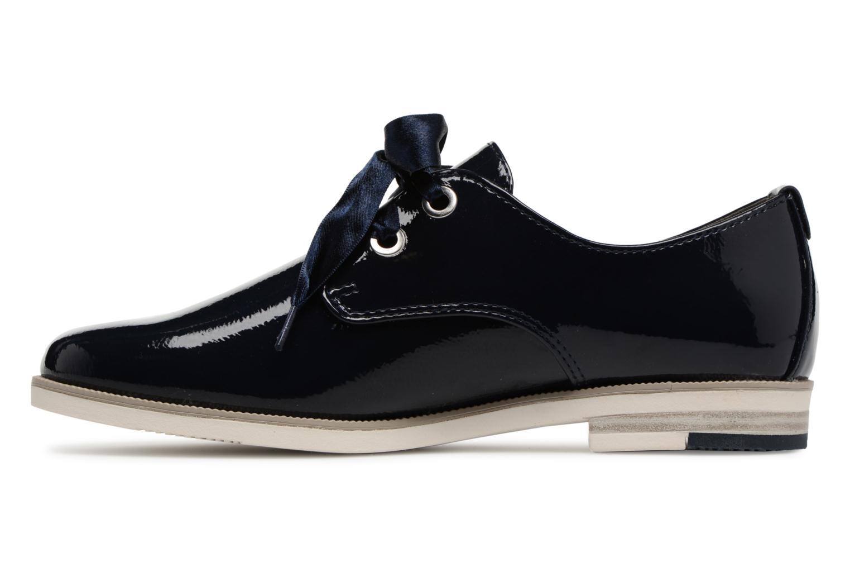 Chaussures à lacets Marco Tozzi Horio Bleu vue face