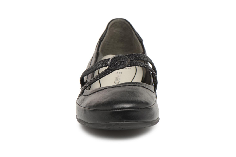 Ballerines Marco Tozzi Aquik Noir vue portées chaussures