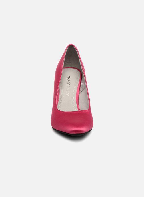 Escarpins Marco Tozzi Zalaxi Rose vue portées chaussures