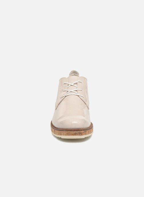 Zapatos con cordones Marco Tozzi Aroga Gris vista del modelo