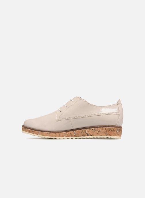 Chaussures à lacets Marco Tozzi Aroga Gris vue face