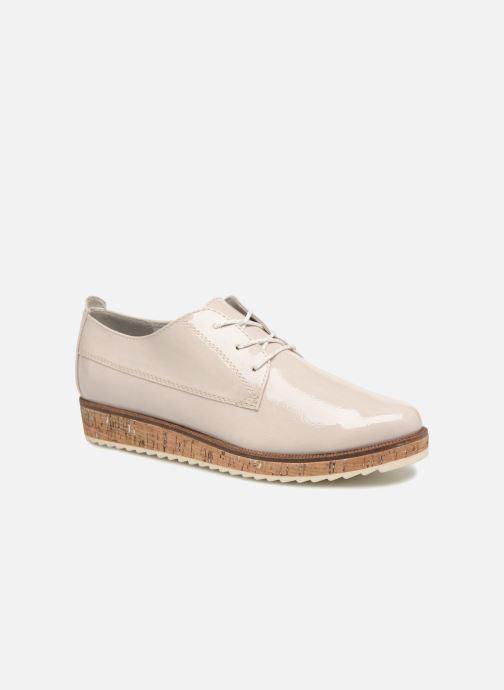 Zapatos con cordones Marco Tozzi Aroga Gris vista de detalle / par