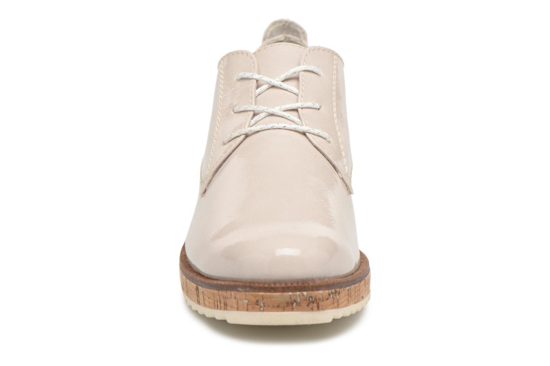 Chaussures à lacets Marco Tozzi Aroga Gris vue portées chaussures