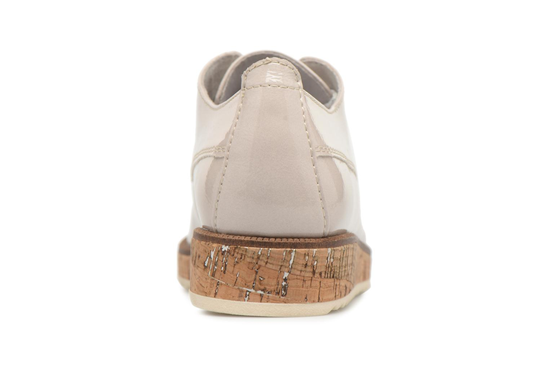 Chaussures à lacets Marco Tozzi Aroga Gris vue droite